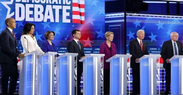 Estados unidos, Atlanta, el quinto debate entre los candidatos dem: Trump es un mentiroso, sí a juicio político