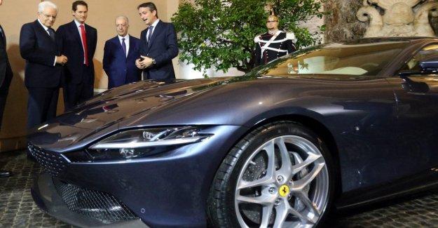 Ferrari de Roma, que es lo que está detrás del homenaje a la Dulce Vida de la nueva GT
