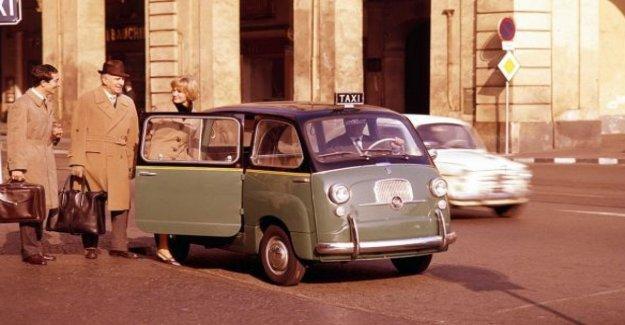 Fiat 600 Multipla mostrar: la conquista de Londres