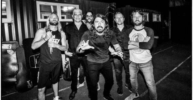 Foo Fighters, la banda, Dave Grohl está de vuelta en vivo en Italia