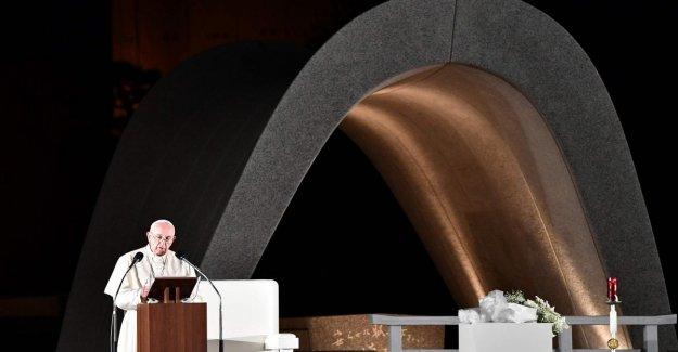 Francisco de Hiroshima y Nagasaki: Nunca más la guerra, nunca más el estruendo de las armas