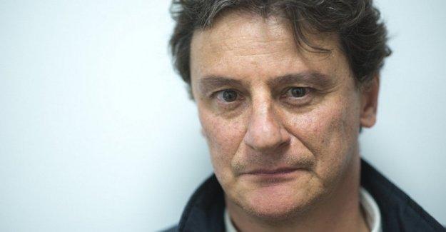 Giorgio Tirabassi afectados por la enfermedad durante la presentación de su película