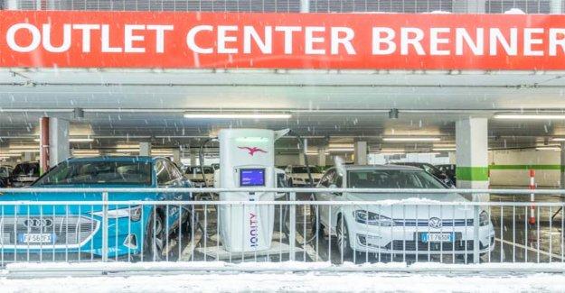 Ionity, para el paso del Brennero, la nueva estación de carga super rápido