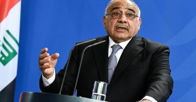 Irak, después de dos meses de protestas Mahdi anuncia la dimisión del premier