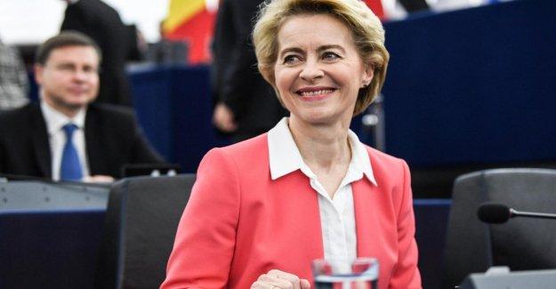 La comisión europea, el voto de confianza, Von der Leyen: el cinquestelle dividir