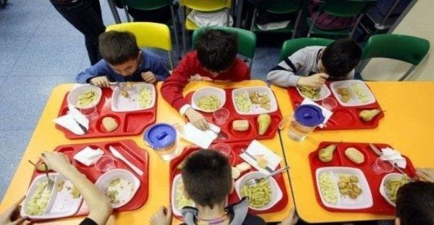 La escuela, ¿de cuánto es la tabla? Con una media de 80 euros por familia