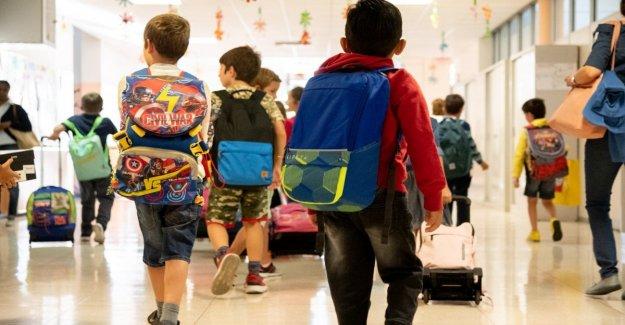La escuela, solicitudes de matrícula del 7 al 31 de enero de 2020