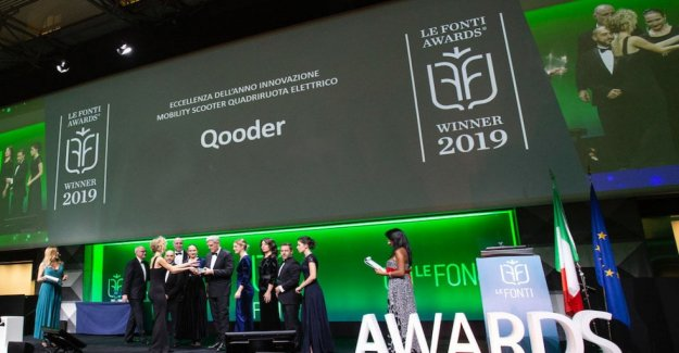 La fuente de los Premios 2019 para la movilidad? Conquistada por Qooder