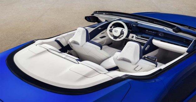 Lexus LC 500 Convertible, placer de conducción y el aire libre