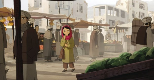 Los dibujos animados, producida por Angelina Jolie para el Día contra la violencia sobre la mujer
