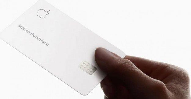 Los límites de crédito son diferentes para hombres y mujeres, las acusaciones de sessimo en contra de Apple Tarjeta de