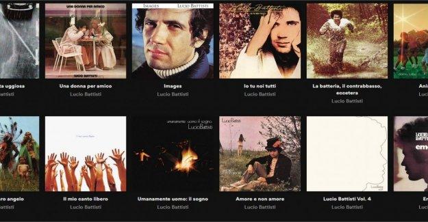 Lucio Battisti 'Il mio canto libero el más escuchado en Spotify