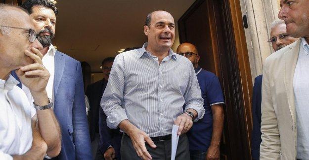 Maniobra, Zingaretti reúne la cumbre de la Pd de la Habitación: Así, la cadena se rompe