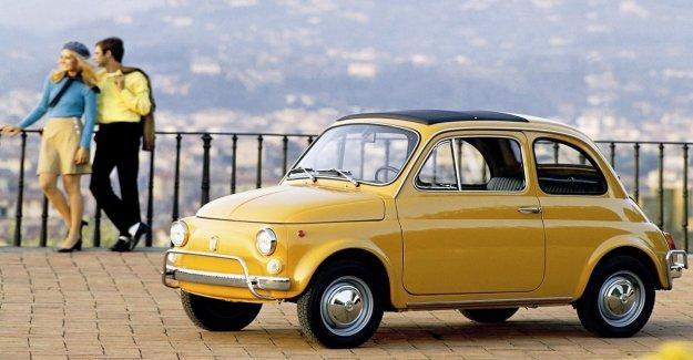Mayores Fiat 500 coches eléctricos, el increíble registro italiano