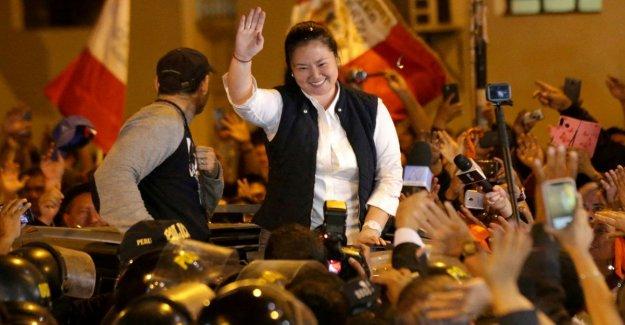Perú: se emite el líder de la oposición en Keiko Fujimori. Fue arrestado por un caso de corrupción