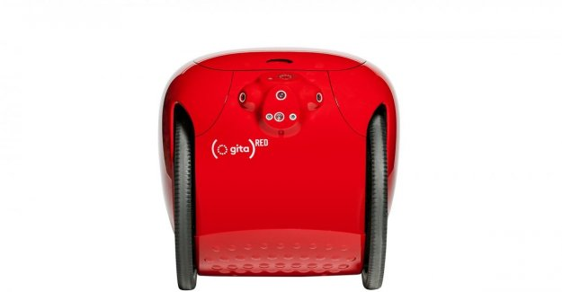 Piaggio Avance Rápido, incluso el robot en Rojo