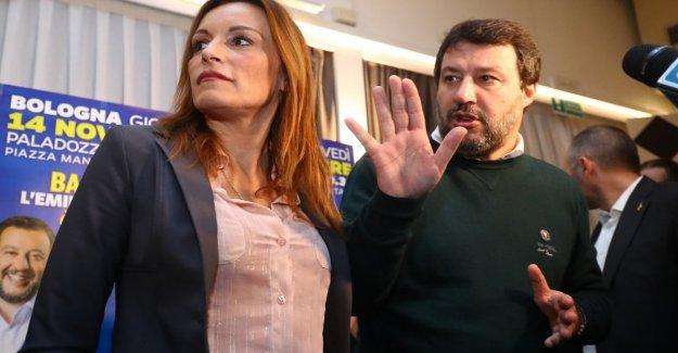 Salvini apeló a los militantes lombardi para llenar el palacio de Bolonia. Pd: a menudo se muestra
