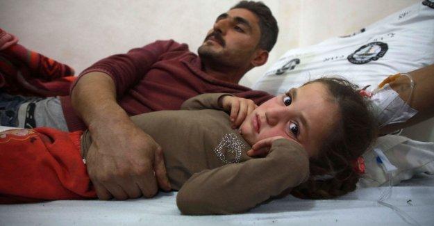 Siria, ocho niños fueron asesinados y decenas de heridos en un campamento de personas desplazadas