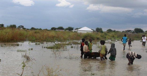 Unicef: Después de riesgos de inundaciones de 490 mil niños en Sudán del Sur y 200 mil en Somalia