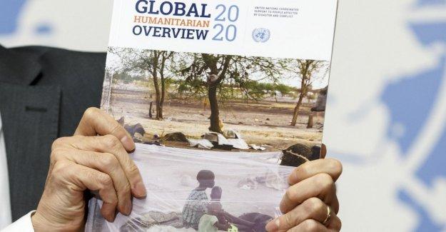 59 millones de niños en riesgo, Unicef lanza el récord de recaudación de fondos