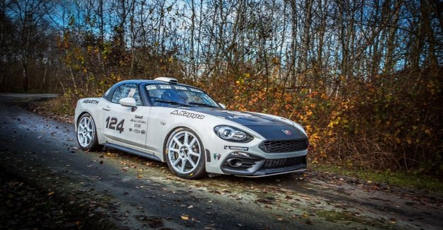 Abarth 124 rally, corriendo por la leyenda