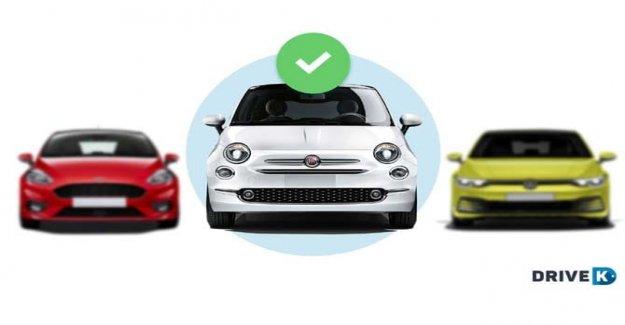 Caída En el presupuesto de los italianos que buscan un coche nuevo en línea