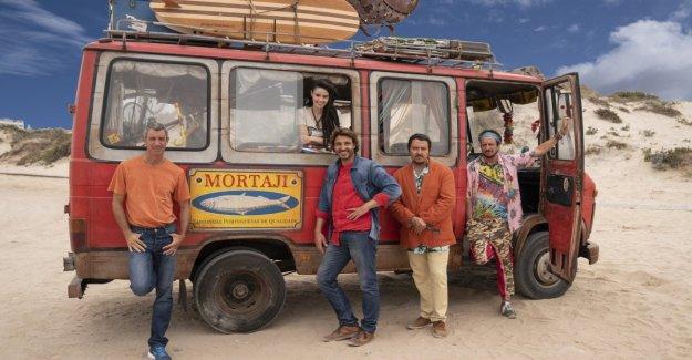 Cuatro amigos y Un hijo llamado Erasmus, con Pablo y Lucas, Ricky Memphis, Daniele Liotti