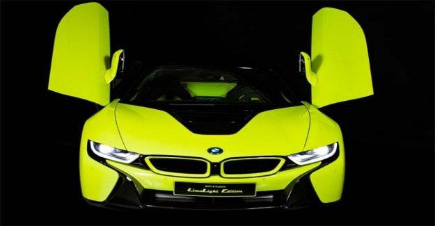De Bmw y Alcántara, el i8 Roadster Limelight Edición