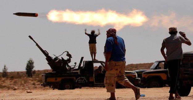 De los estados Unidos: Nuestro drone derribado en Libia por el ruso