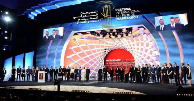 El Festival de Marrakech, un desfile de estrellas de las doce obras temprano en la carrera, y hay también 'el Sol', de Carlo Sironi