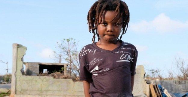 El caribe, cientos de miles de niños desplazados en el Caribe, en 5 años, debido a las tormentas