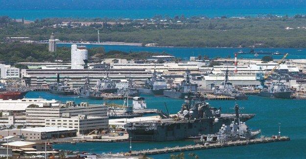 Estados unidos, disparando a Peral Harbour: varias personas afectadas