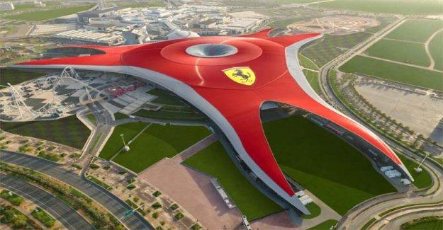 Ferrari World de Abu Dhabi, el mejor parque de diversiones en el mundo