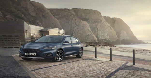 Ford Focus, el estilo de la primera de todas. Aquí está la versión de que el Activo V