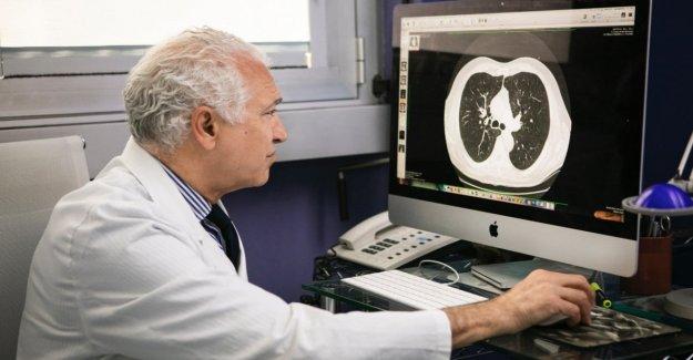 La caza, una de 10 mil fumar para tratar de prevenir el cáncer de pulmón