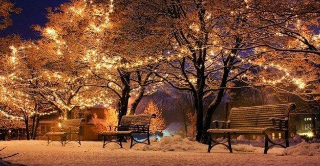 La crisis del cambio climático y, en Alemania dispuesto a renunciar a las luces de Navidad