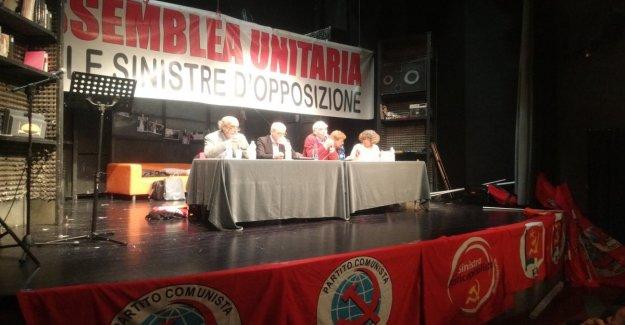 Marzo, por separado, la huelga juntos: la ultrasinistra a la congregación en Roma contra el Conde Bis