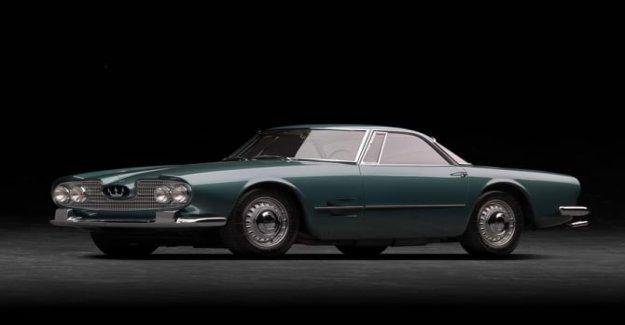 Maserati 5000 GT, un coche de la mil y una noche