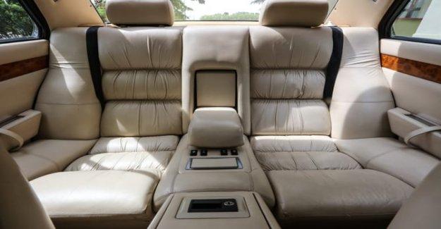 Maserati Quattroporte, un coche de la Presidente