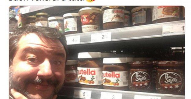 Salvini da un paso atrás: Addolcisco el día con una rebanada de pan y Nutella