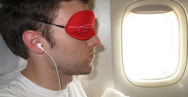 Un dispositivo para decirle a usted cuando usted puede dormir contra el jet lag
