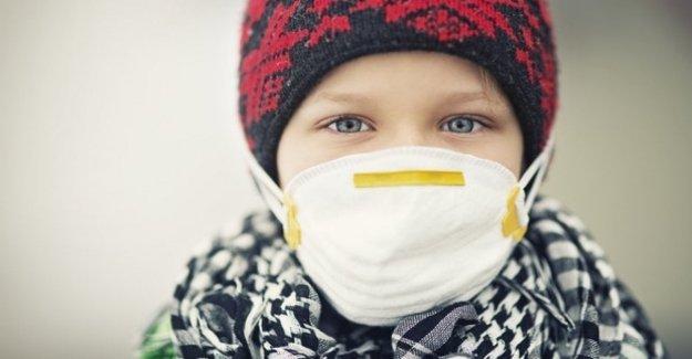 A los niños en mayor riesgo de conjuntivitis por la contaminación