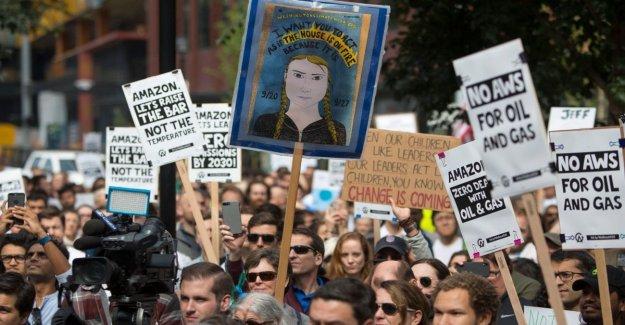 Amazon, los empleados, los rebeldes están protestando por el clima: Debemos hacer más