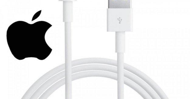 Apple contra un estándar de cables de carga para el iPhone, buscado por la Ue