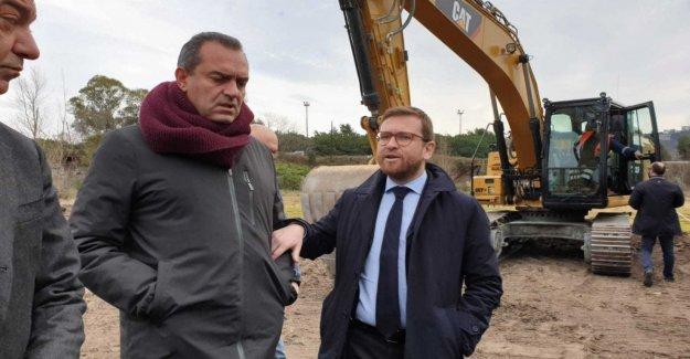 Aquí vienen las excavadoras para la recuperación de Bagnoli, el ministro de Provenzano: lo Siento por el retraso