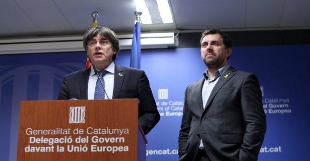Cataluña, el tribunal belga, se suspende la extradición de Puidgemont y Comin