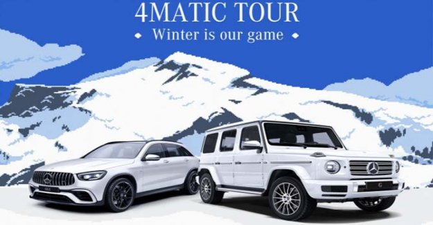 El Mercedes-Benz 4Matic Tour 2020