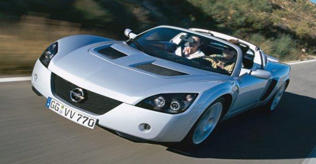 El Opel Speedster, el deporte que hablaba inglés