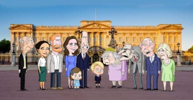 'El Príncipe', la familia real se convierte en una sátira de la historieta en los ojos del príncipe George