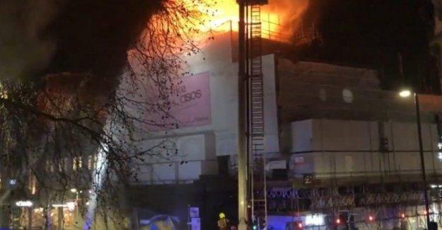 El reino Unido, en llamas el teatro símbolo de Londres: la alarma del distrito Guardado Koko en Camden